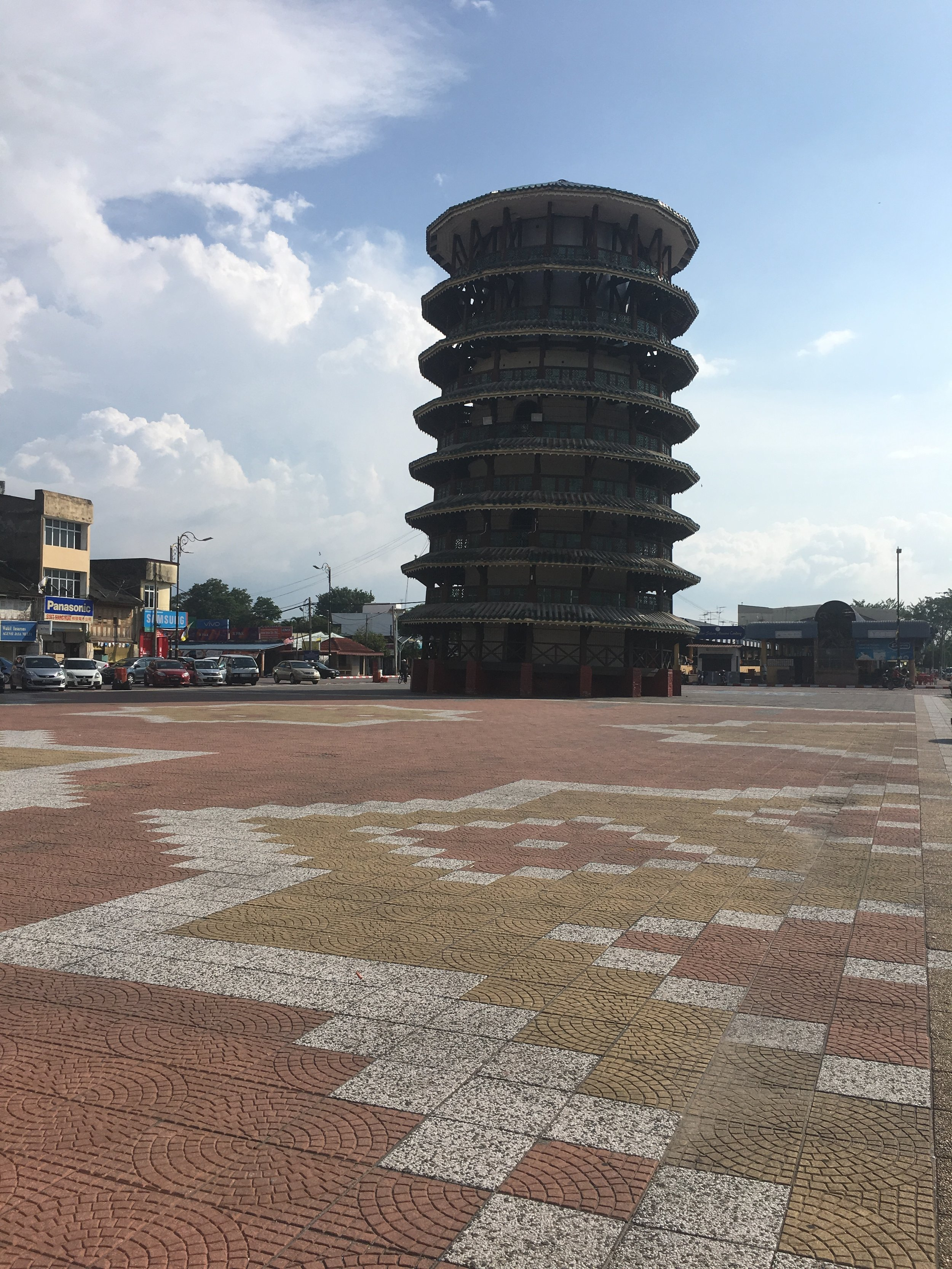 -Teluk Intan also home to Malaysias own leaning tower of Pisa, as it is known.