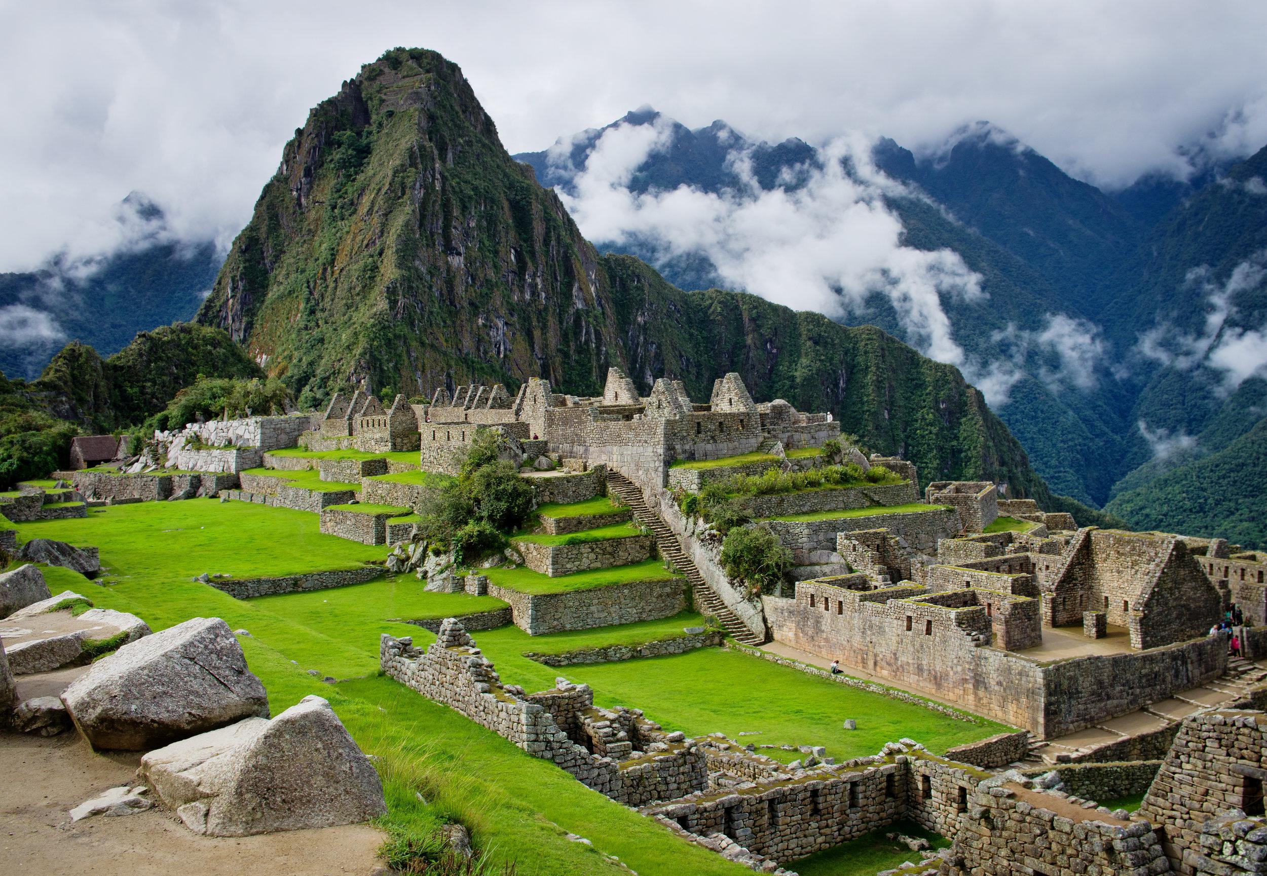 Project Kaif World Heritage Site Machu PIcchu, Peru