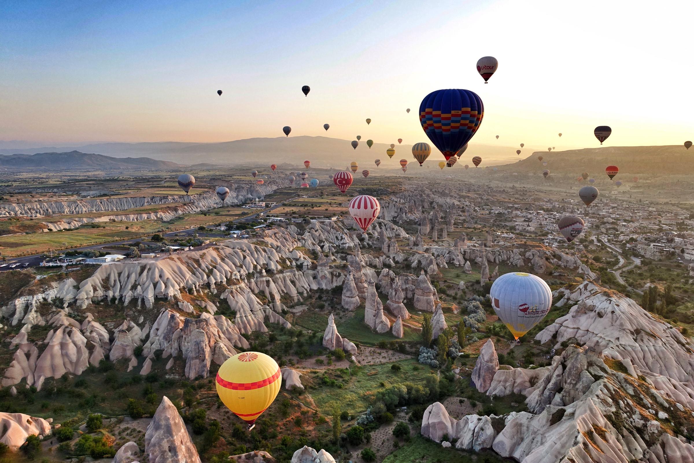 Project Kaif - Kaif moment - What is Kaif - Cappadocia, Turkey - ballooning