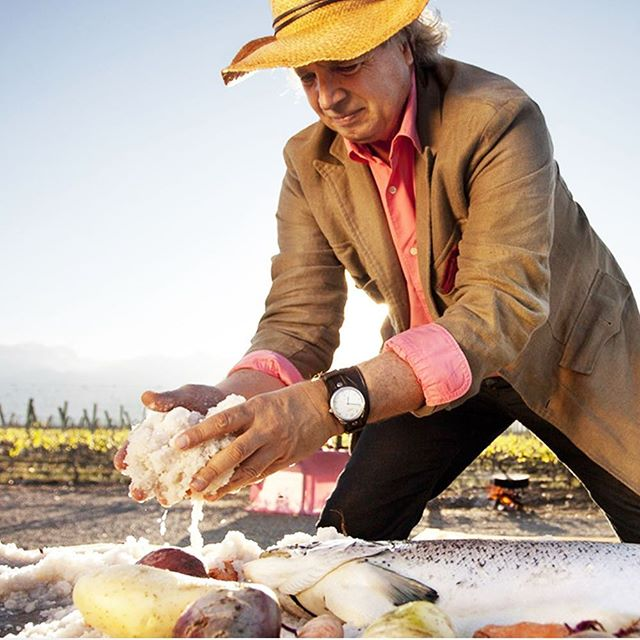 Whether you are staying at The Vines Resort & Spa in Mendoza, Argentina or just passing by, be sure to stop at Siete Fuegos - the restaurant of internationally acclaimed chef Francis Mallmann. You can taste exceptional Argentine beef cooked over open flames!