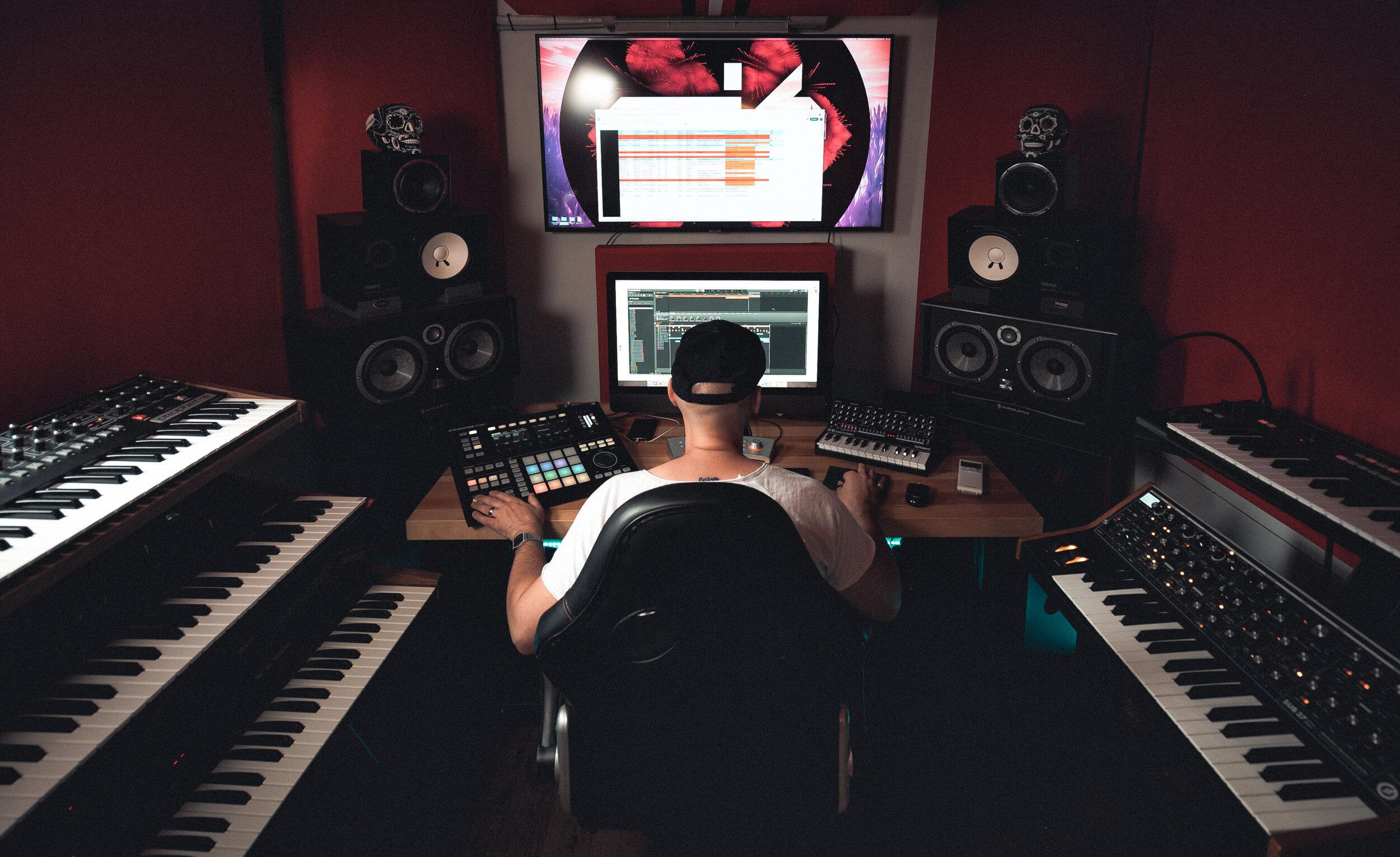 Spike Leo Recording Studios Melbourne