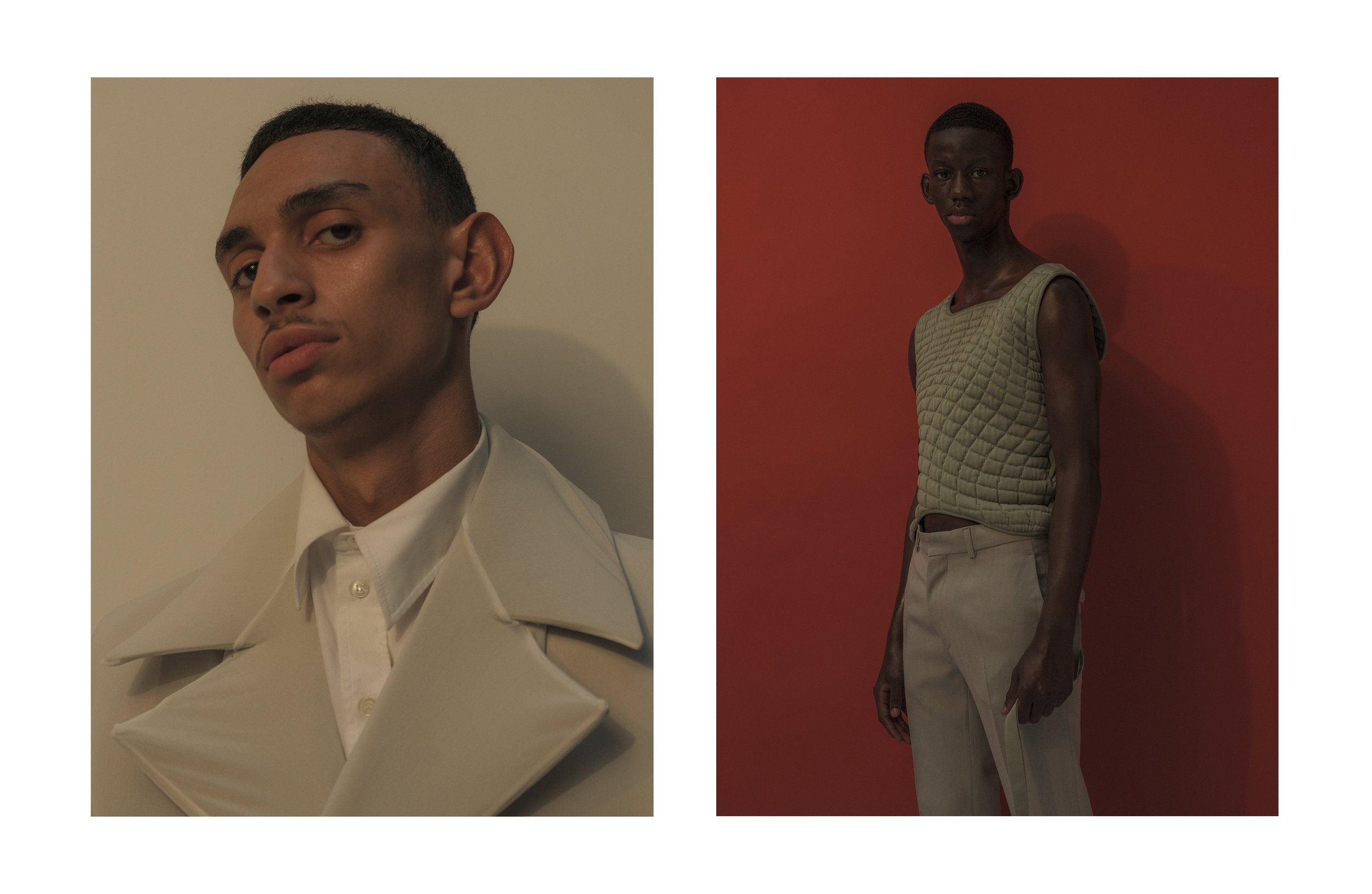 JASSIM & MAMADOU FOR ESSENTIAL HOMME, PARIS 2019