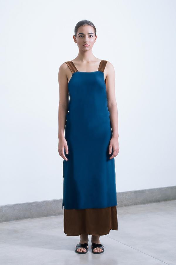asha layered dress Midnight blue_Chocolate.jpg