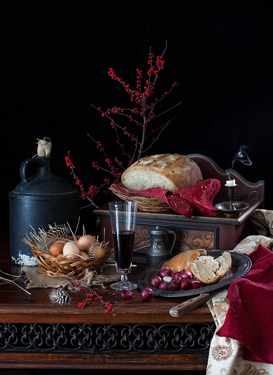 Yelena Strokin _ Dutch Style Still Life _ Farmers Table.jpg