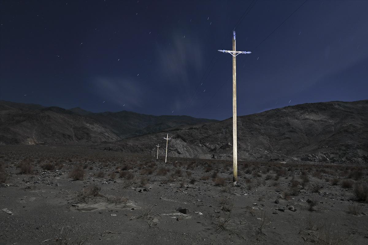 Power Poles Dolomite Road