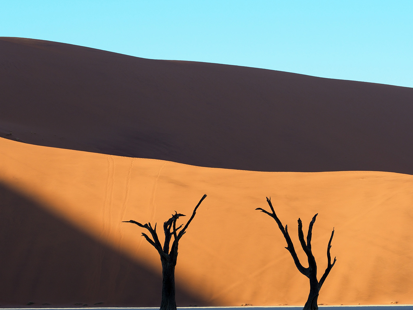 © Ranjan Ramchandani, The Shadows at Dead Vlei'