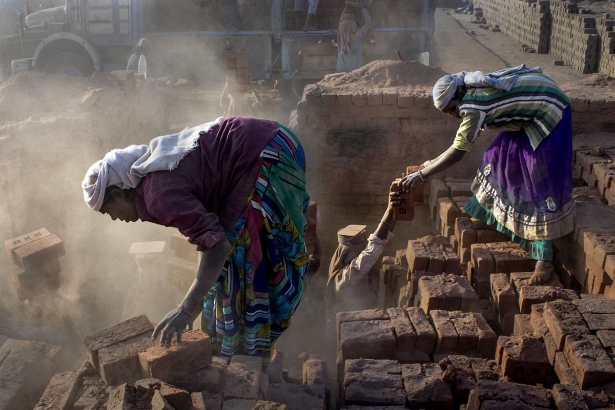 Tejal Mewar_Women Power at Brick Kiln_ In the dust.jpg