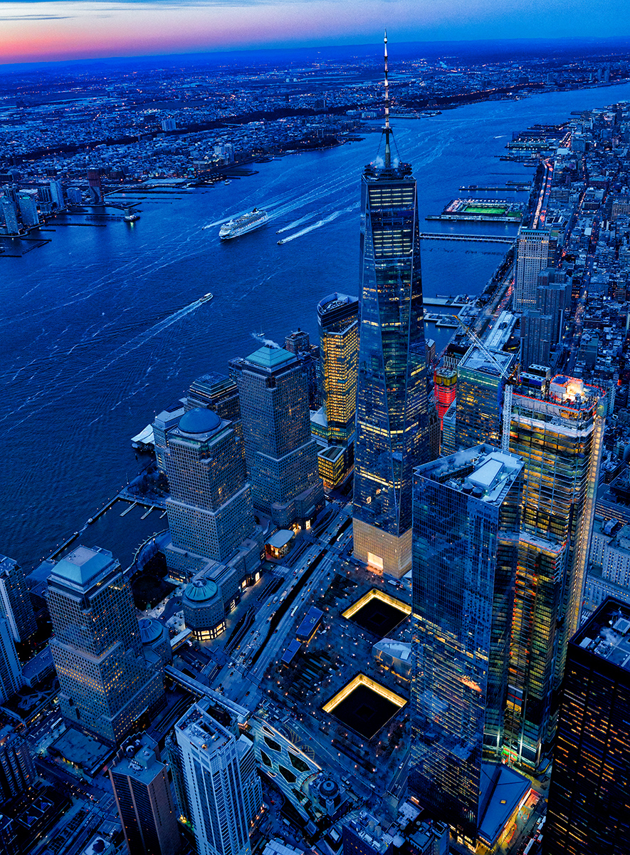 Stuart Chape_New World Trade Centre and 9-11 Memorial Series 5.jpg