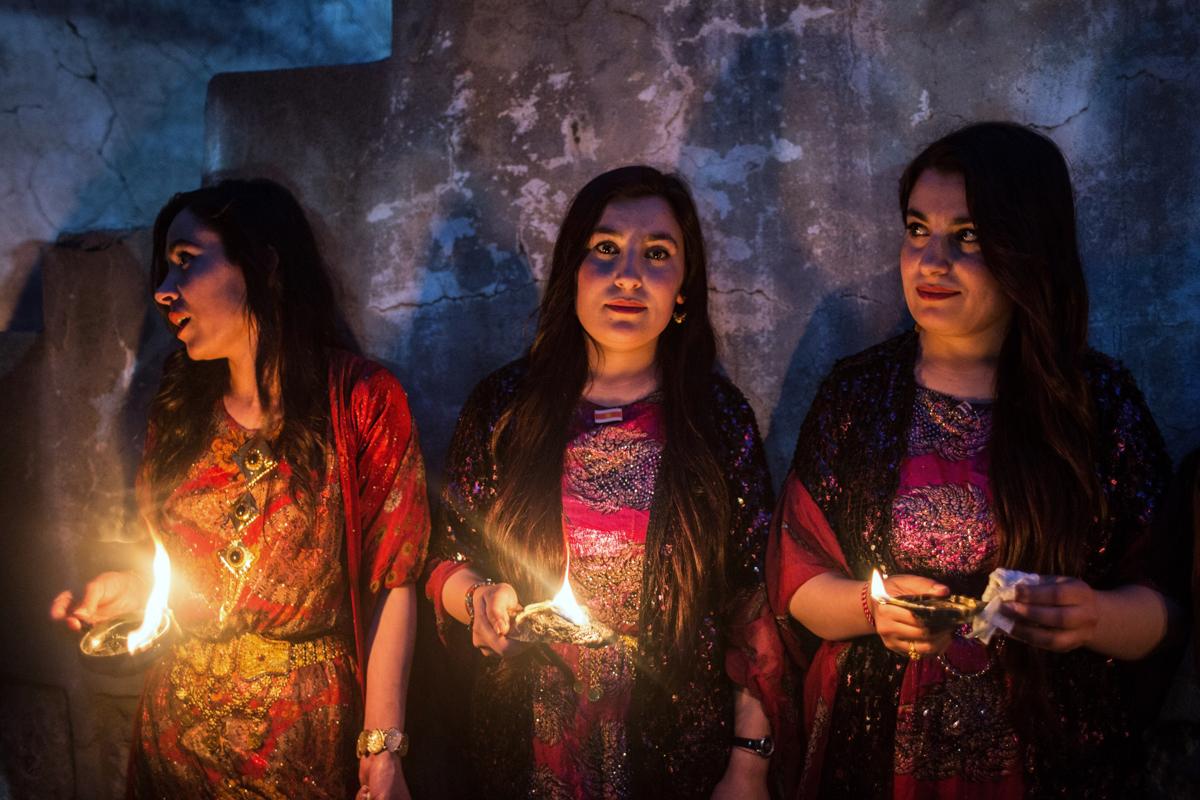 Sini Giacomo_Where the Yazidis Are_Holy lighting jars.jpg