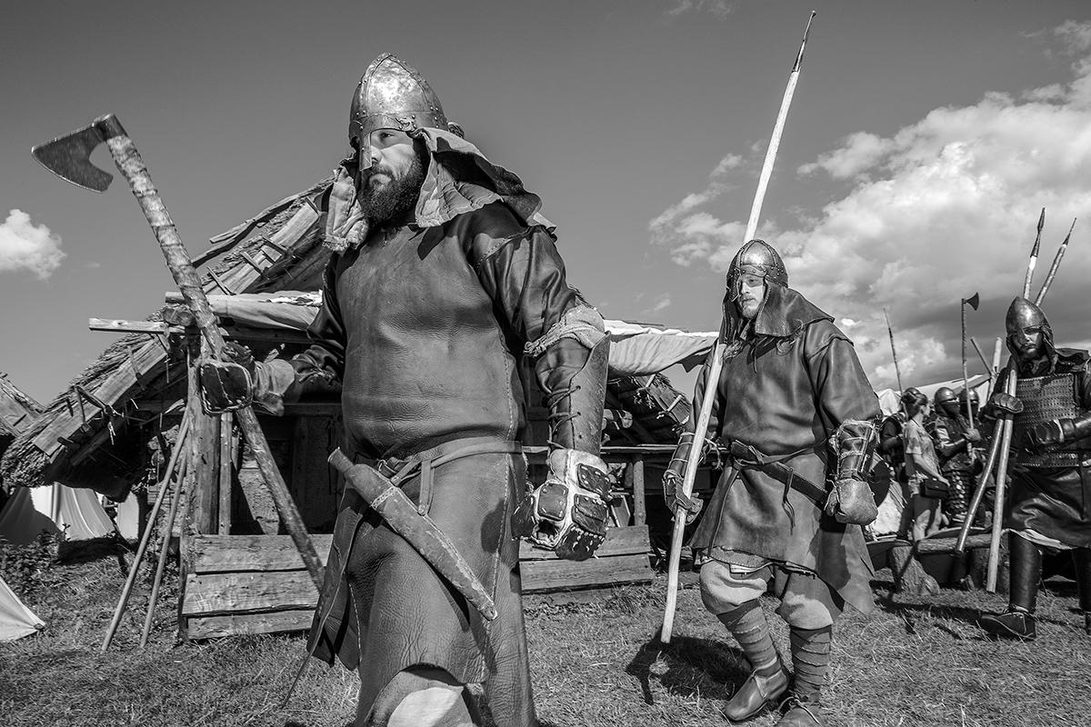 Boguslaw Maslak_Slavic & Viking Festival_04 Marching for Battle.jpg