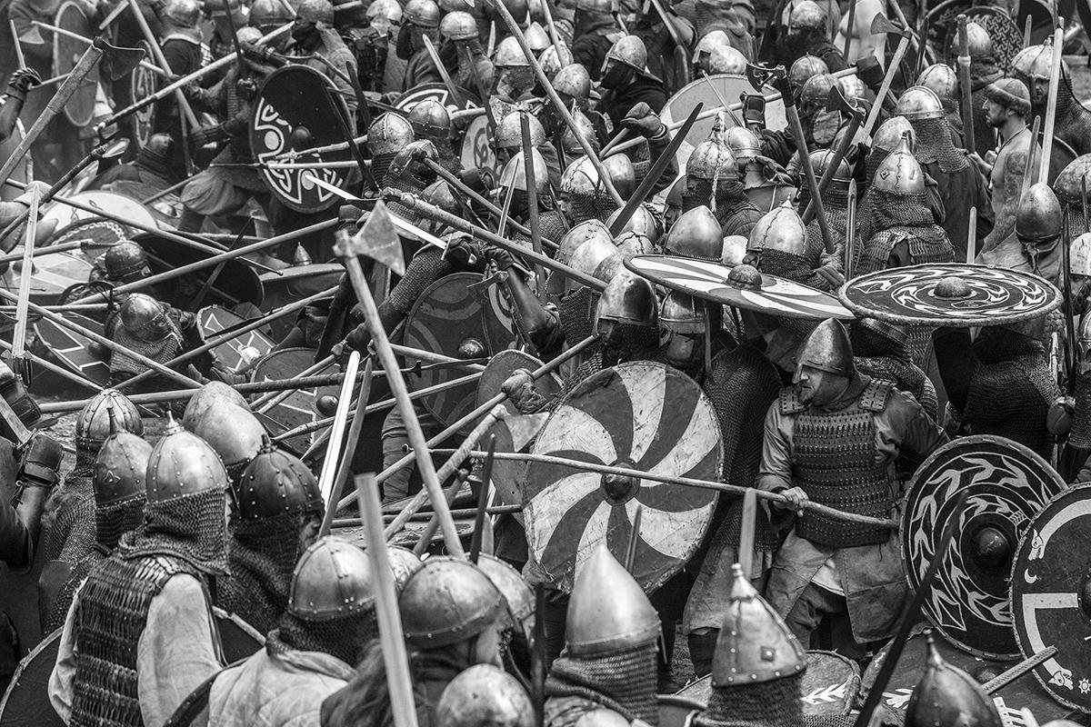 Boguslaw Maslak_Slavic & Viking Festival_06 During Battle.jpg