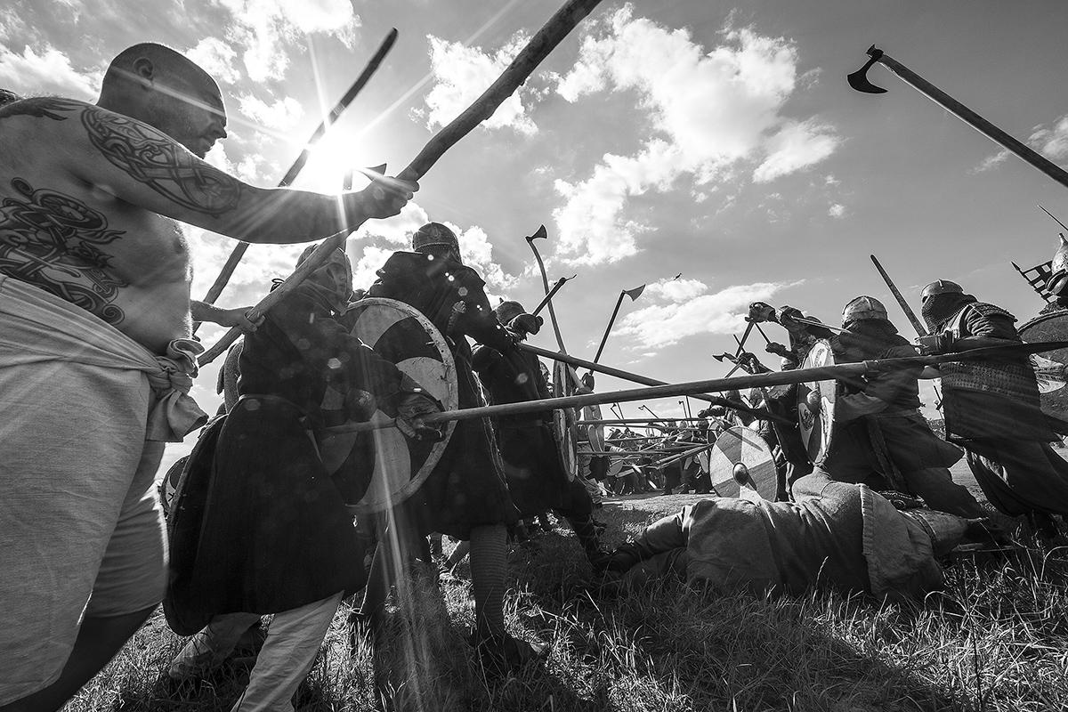 Boguslaw Maslak_Slavic & Viking Festival_07 During Battle 2.jpg