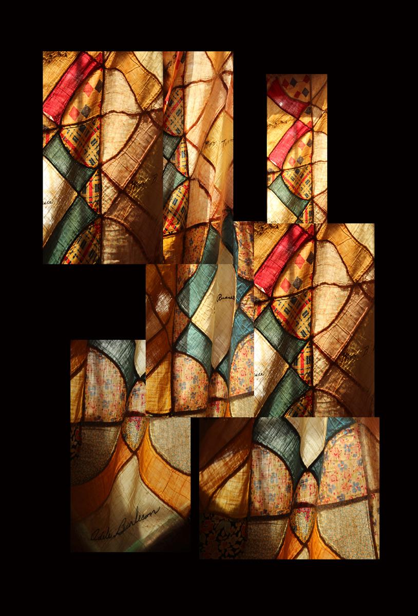Rosa Maria de la Cueva Peterson_(A Contraluz)_Reverso y Anverso Both Sides of a Quilt.jpg
