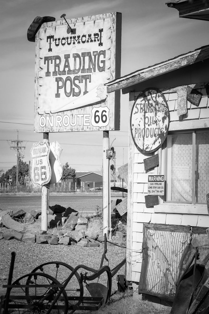 Charly McConnell_Get Your Kicks on Route 66_Tucumcari Trading Post.jpg