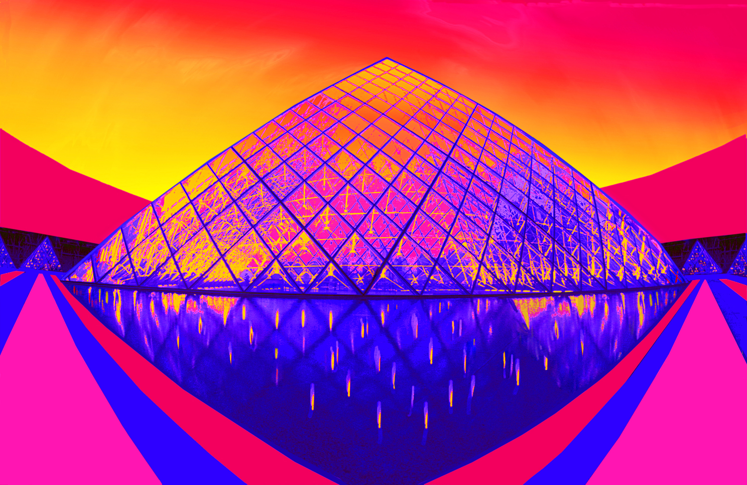 Jane_Gottlieb-Paris Pyramid at Dusk.jpg