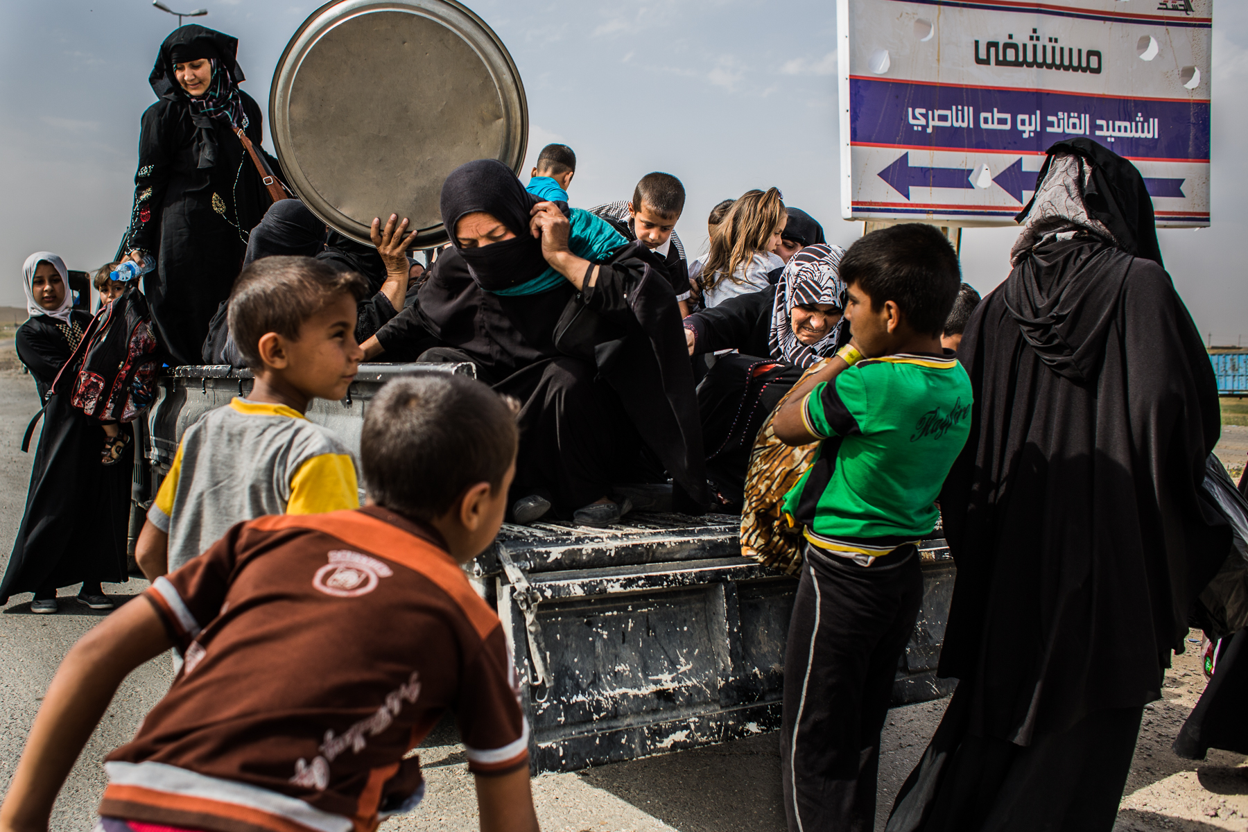 Yusuke_Suzuki_The battle for Mosul_People escaping from ISIS_02.jpg