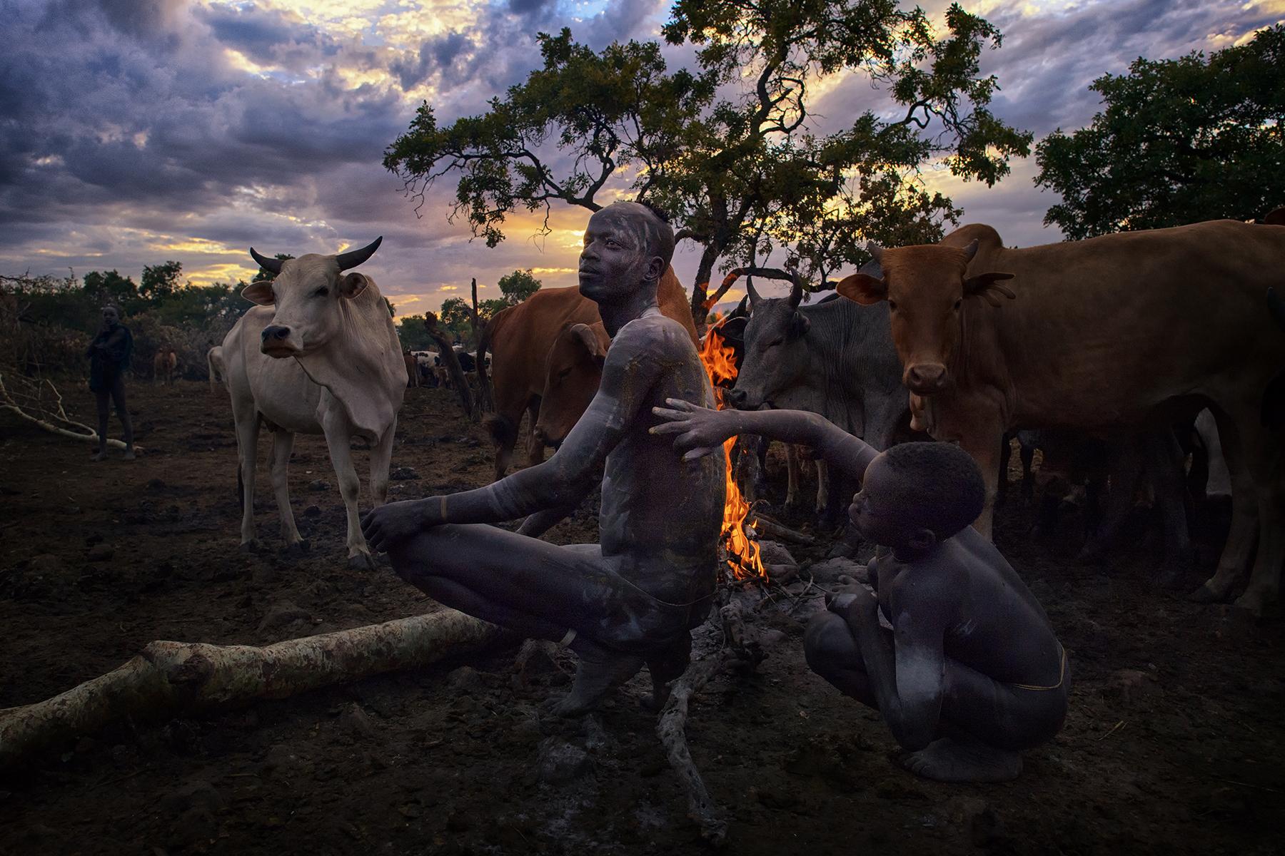 David Nam Lip_LEE_The Ritual Belong To The Suri Tribe Of Ethiopia_Body Painting_1.jpg