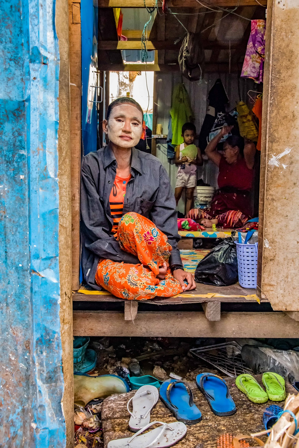Kathleen Gerber - Living at the Yangon Fish Market.JPG