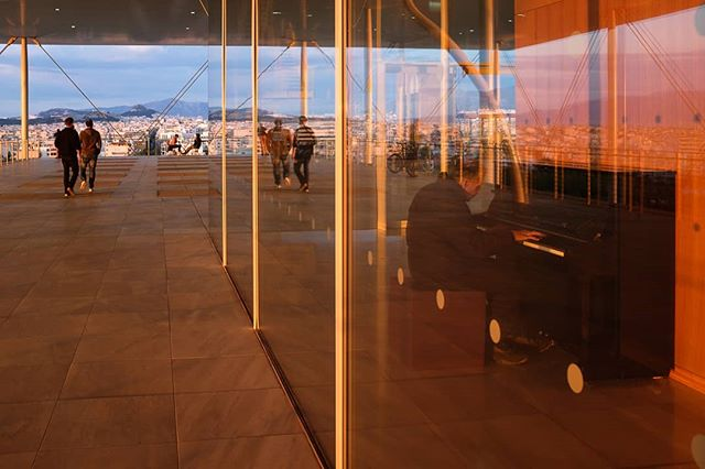 A day at the Opera [1] • #snfcc #sunset #reflections #pianoplayer #athens #city #greece #exploretocreate #emotionsandmemories #streetography #streetxstory #streetcolour #photostreet #urbanism #urbanandstreet #citygrammers #fujifilm #x100s #fujix100s #fujifilmx100s #fujifilmxseries #fujifeed #myfujifilm #myfujilove #fujifilmglobal #storyofthestreet #life_is_street #independentphoto #burnmyeye #ifocus_gr