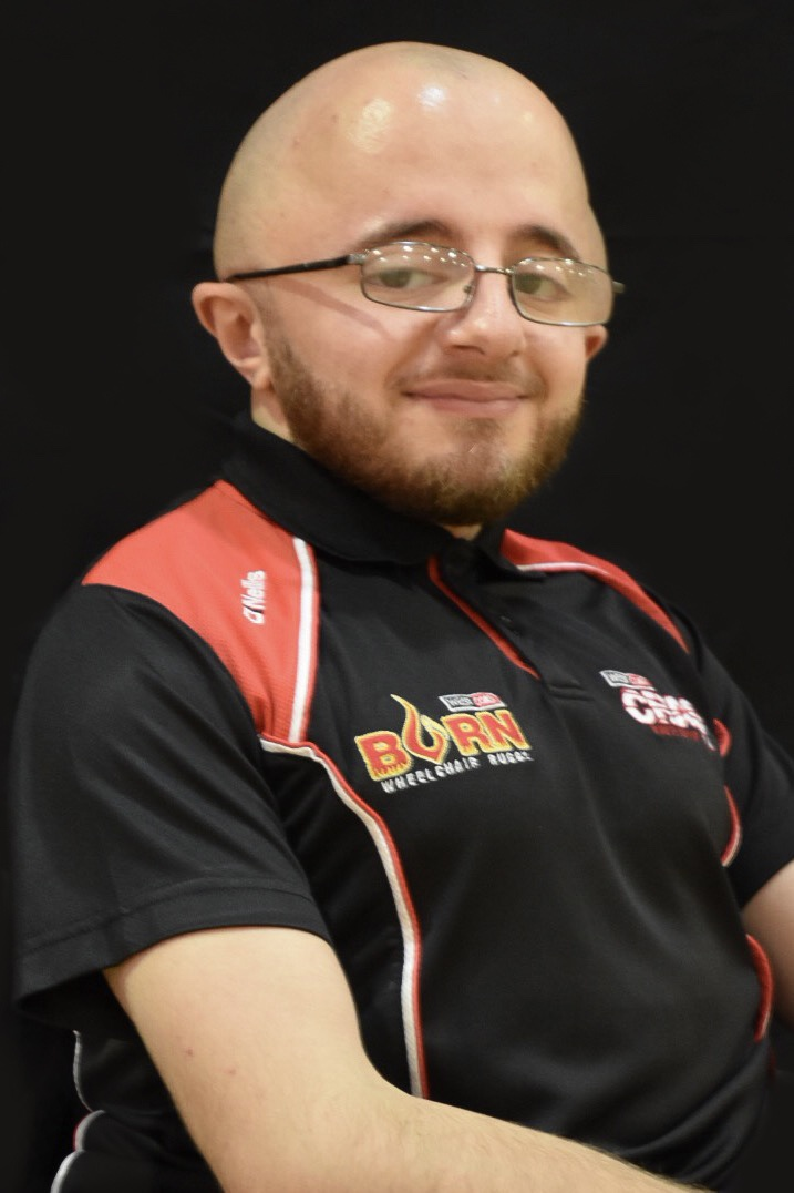 Daniel Dawoud - Daniel joined the club back in 2011. He has progressed though the club ranks where he began playing for Burn and moved up in to Crash. Just 12 months into joining the club,  Daniel was selected as part of the GB Talent squad at the end of 2012 and in 2015 he was selected as Vice-Captain of the team. In 2017 Daniel further progressed and earned himself selection onto the GB Elite squad for the European Championships which resulted in them winning gold.When he isn't playing rugby Daniel assists with coaching both Crash and Burn.