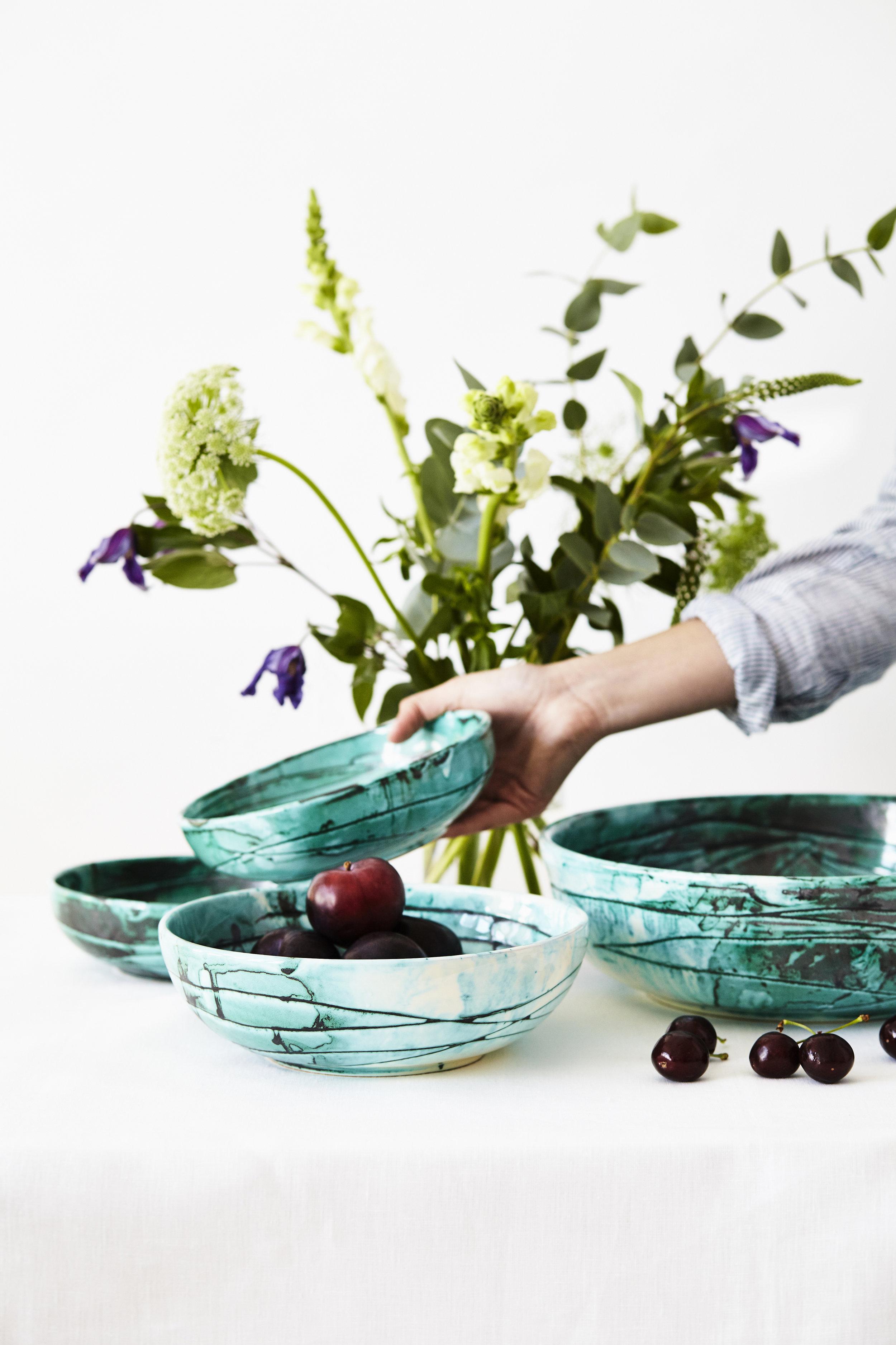 Italian Ceramic Bowls Turquoise_Styling 2.jpg