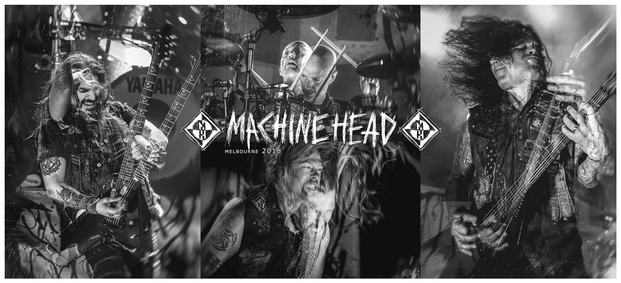 MACHINE HEAD  - Live in Melbourne - 19/7/18  These guys put on an incredibly energetic show at the Forum Theatre in Melbourne last weekend and I was lucky enough to be one of the few photographers given the opportunity to capture them!