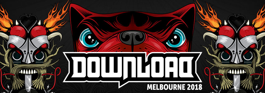 DOWNLOAD 2018  - Live in Melbourne - 24/3/18  The inaugural Aussie Download Festival delivered everything that it promised. A pretty solid lineup, great crowd and brilliant atmosphere. Can't wait to see it back for 2019 even bigger and better!