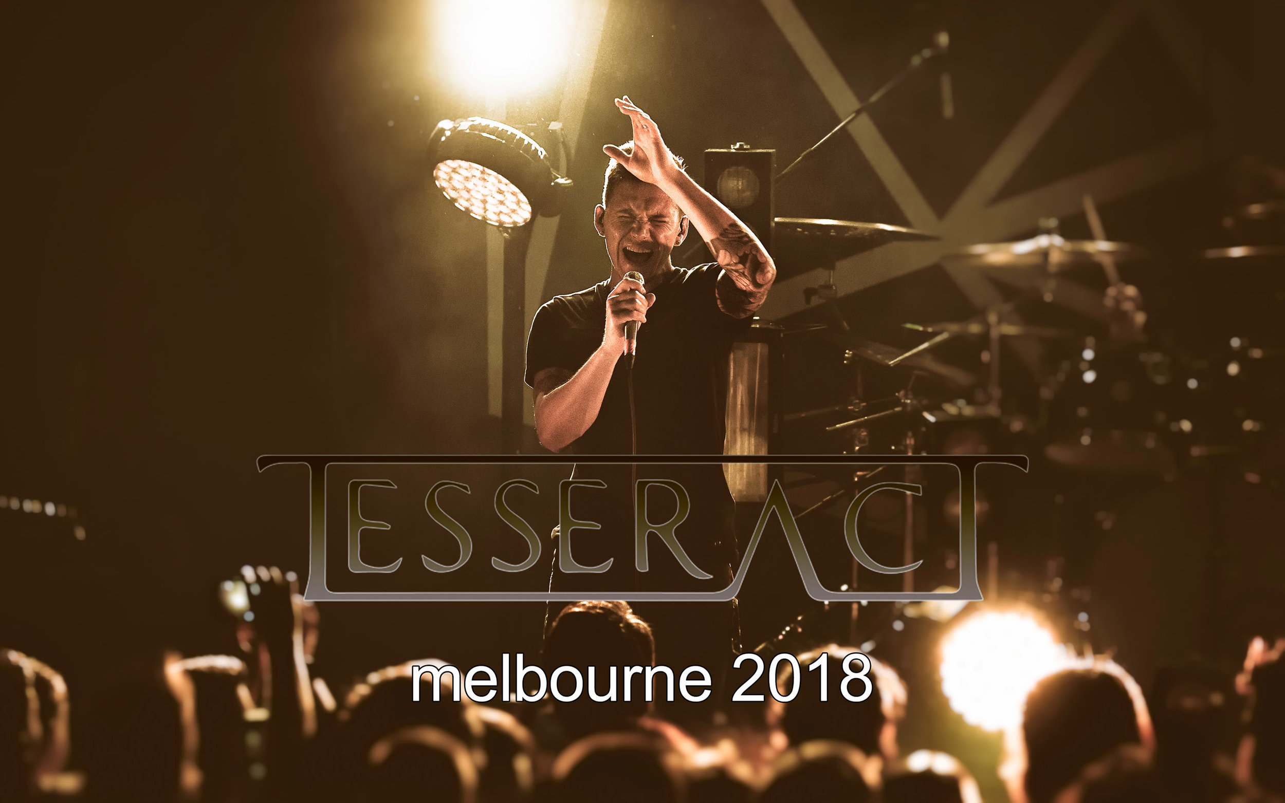 TESSERACT  - Live in Melbourne - 14/9/18