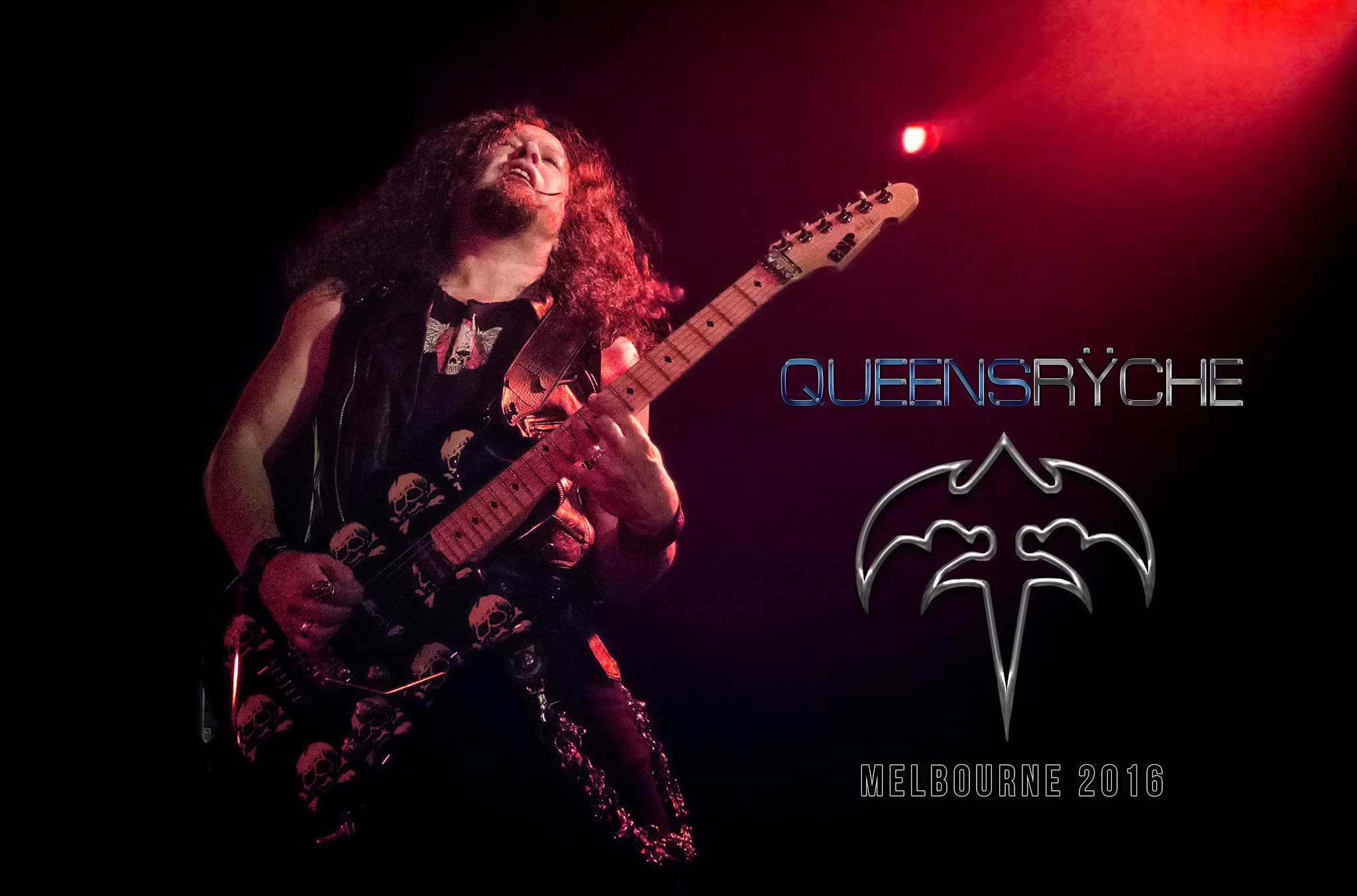 QUEENSRYCHE  - Live in Melbourne - 14/10/16