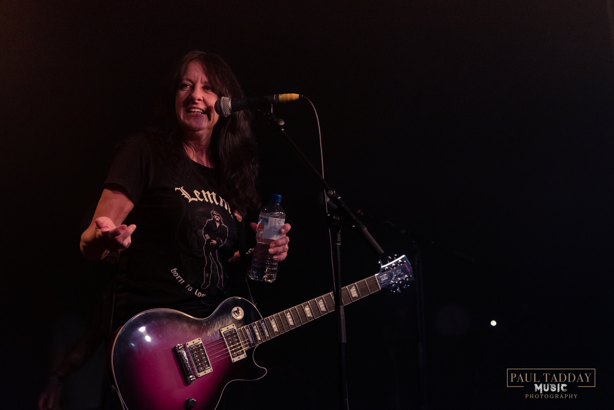 Girlschool live in Melbourne 2019