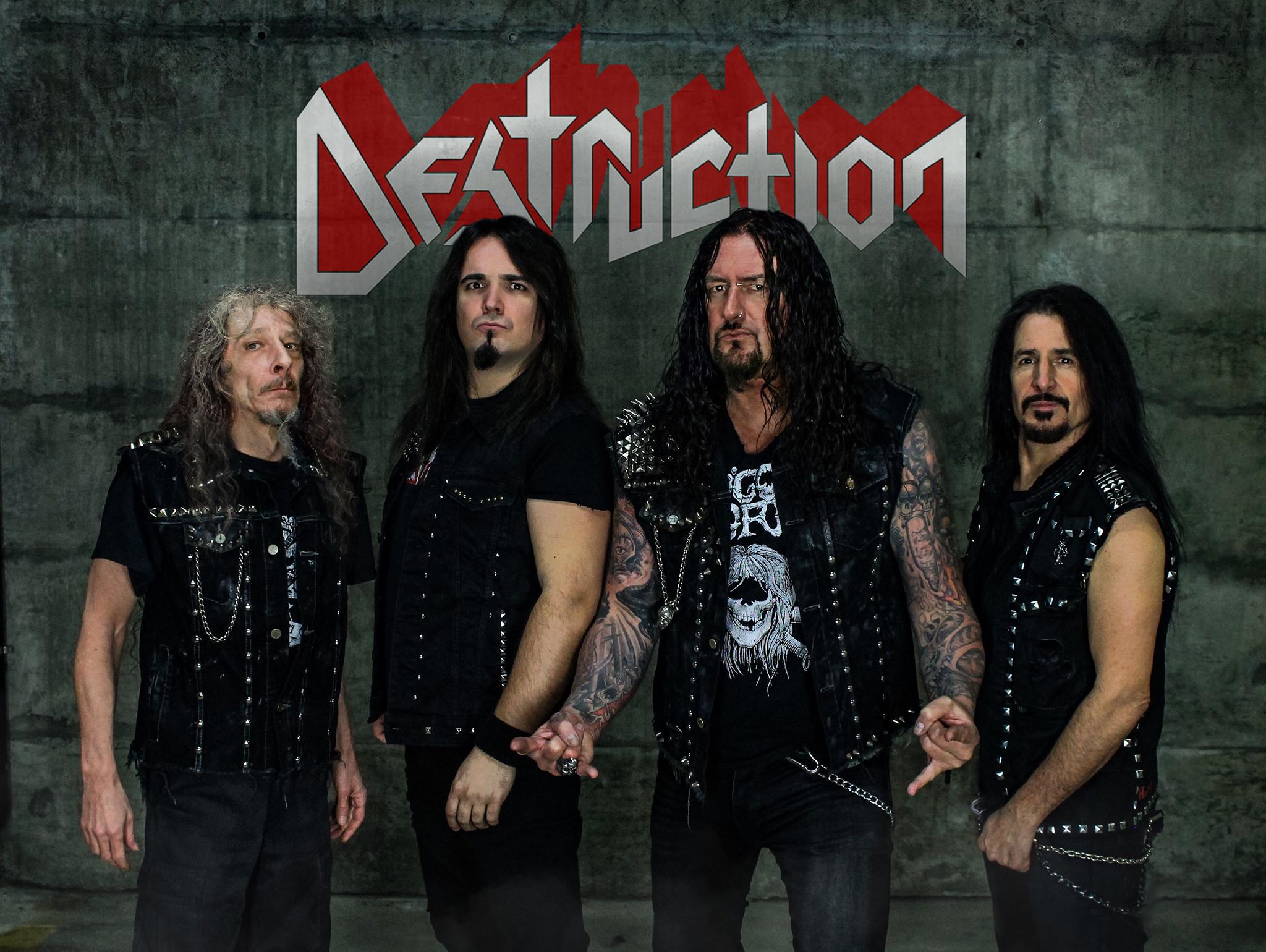 "Interview with  SCHMIER  about the brilliant new  DESTRUCTION  album, "" BORN TO PERISH """