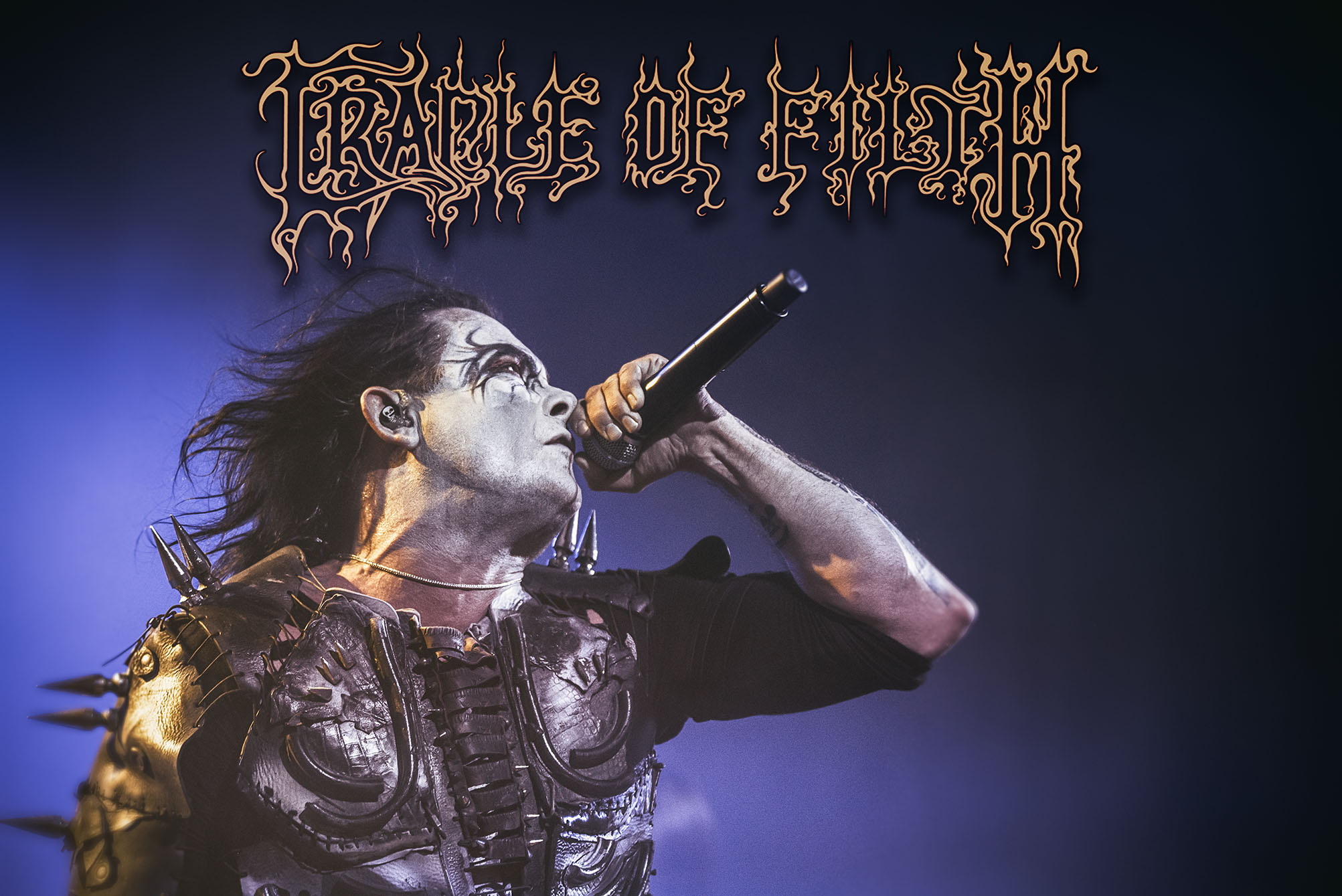 Interview with  DANI FILTH  about the upcoming  CRADLE OF FILTH  tour of Australia and New Zealand