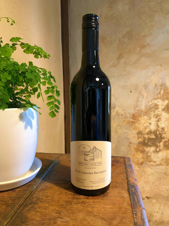 "- The most full-bodied wine produced from our vineyards, however with notably soft tannin structure.Classic varietal characteristic - herbaceous element and green capsicum is absolutely textbook and reflective of our slightly cooler micro-climate at the base of the Kaiser Stuhl National Park. An 'a-typical' Barossa Cabernet and one which truly reflects our property.Less evident on the nose, but generous, expansive, delicious on the palette. Lovely, long generous finish.An absolutely fantastic food wine, very moorish (""Drink your Shiraz with your friends and your Cabernet with a steak"").The elegant tannin structure makes it an excellent cellaring choice – will mellow to a silky, seductive wine in 15 - 20 years.13.8%100% Cabernet Saugivnon612 bottles produced"