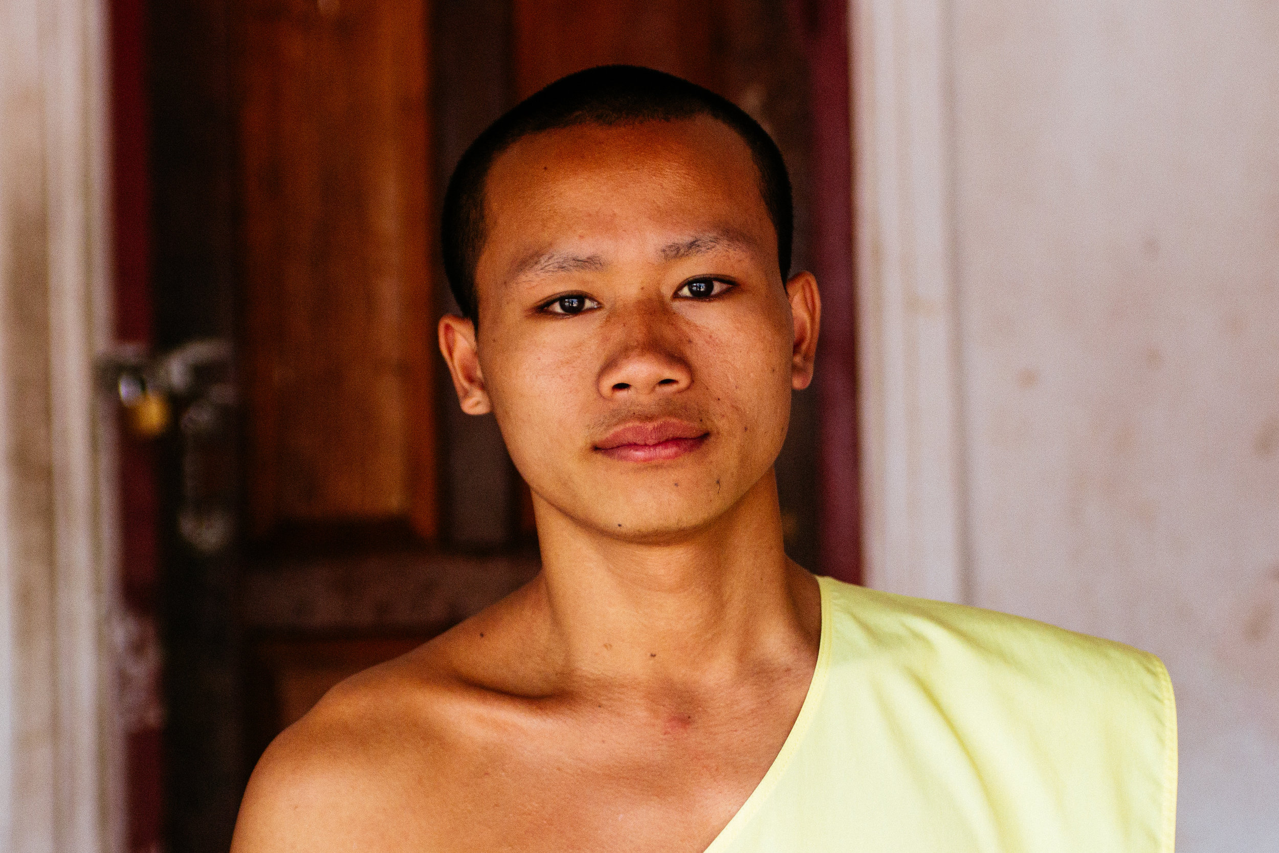 A friendly monk named I met named Koum.