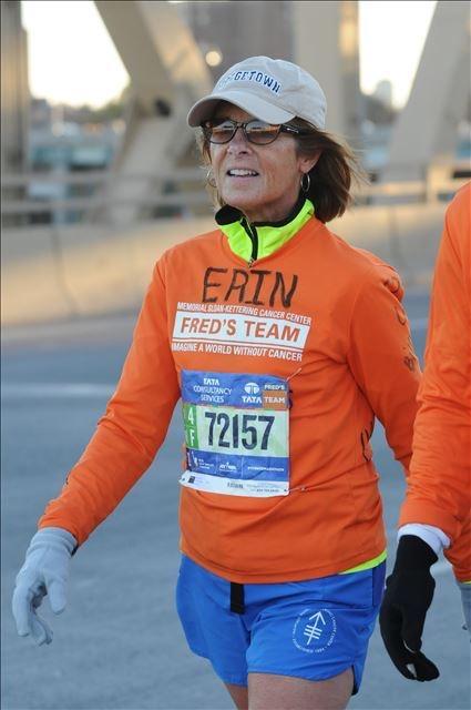 Erin at NYC Marathon- November 7, 2016