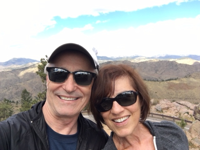 Sharon Robinson DelBusso and her husband, Steve