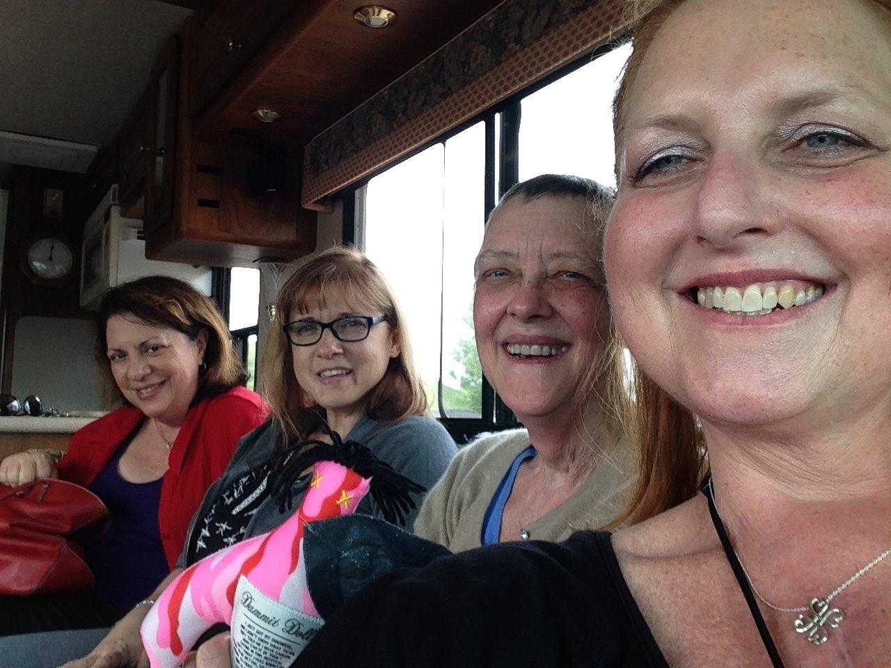 Sandi Liberatori, Lisa Gehart, Dolly Griffin, Nancy Humes Masterson.jpg