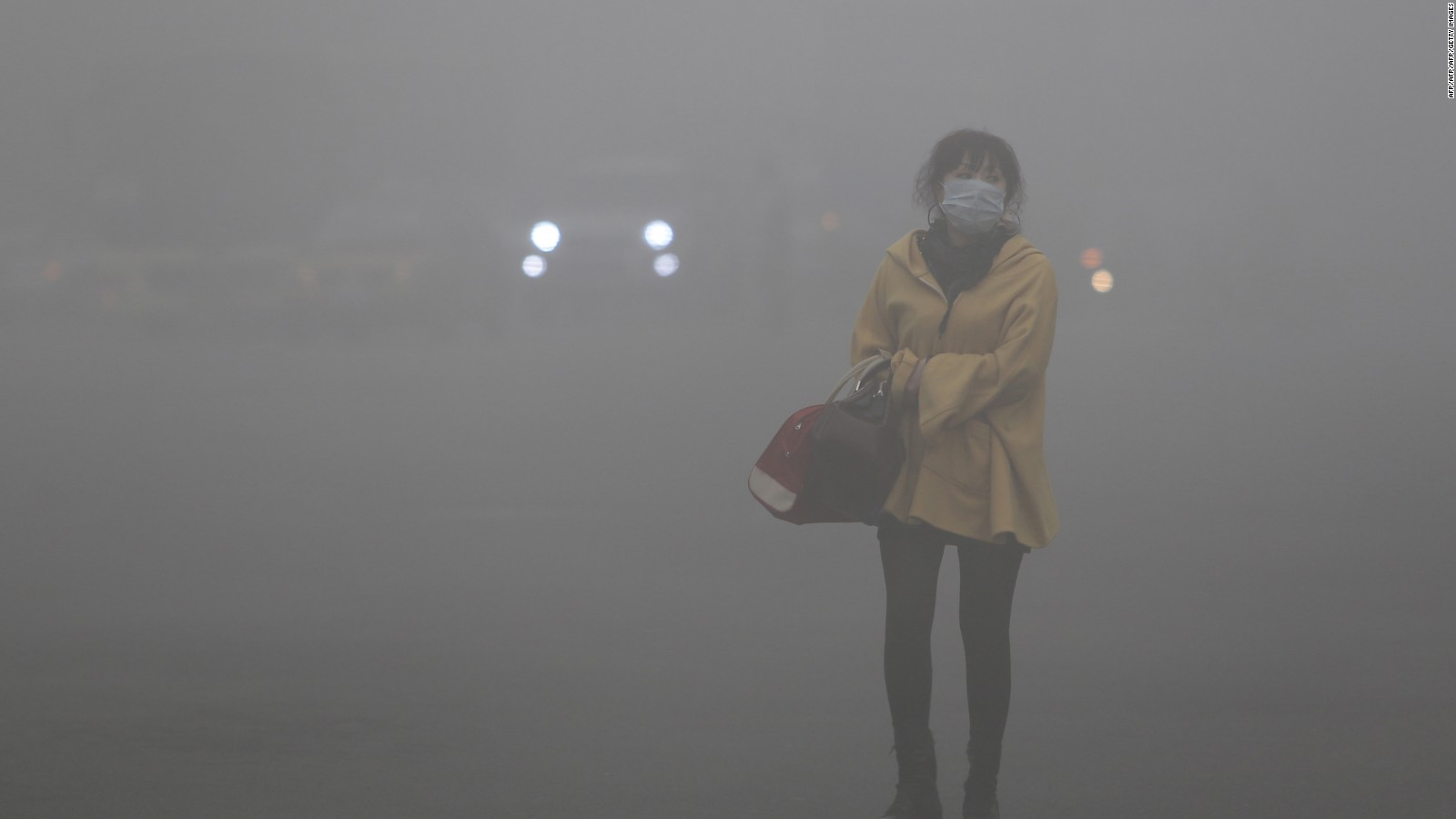 Smog in Hong Kong is a reality today, the future elsewhere?