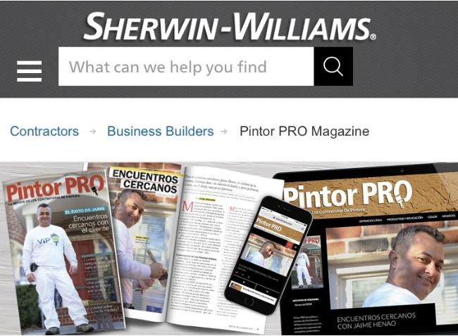 Sherwin Williams Pintor PRO Magazine.jpg
