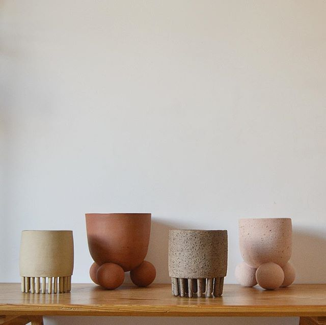 Tomorrow I'll be at the Independent Ceramics Market at @richmixlondon - Come by and say 👋🏽 see some great stuff and maybe find the perfect 🎁 It's from 11-6 @diyartmarket #ceramics #pots #planters