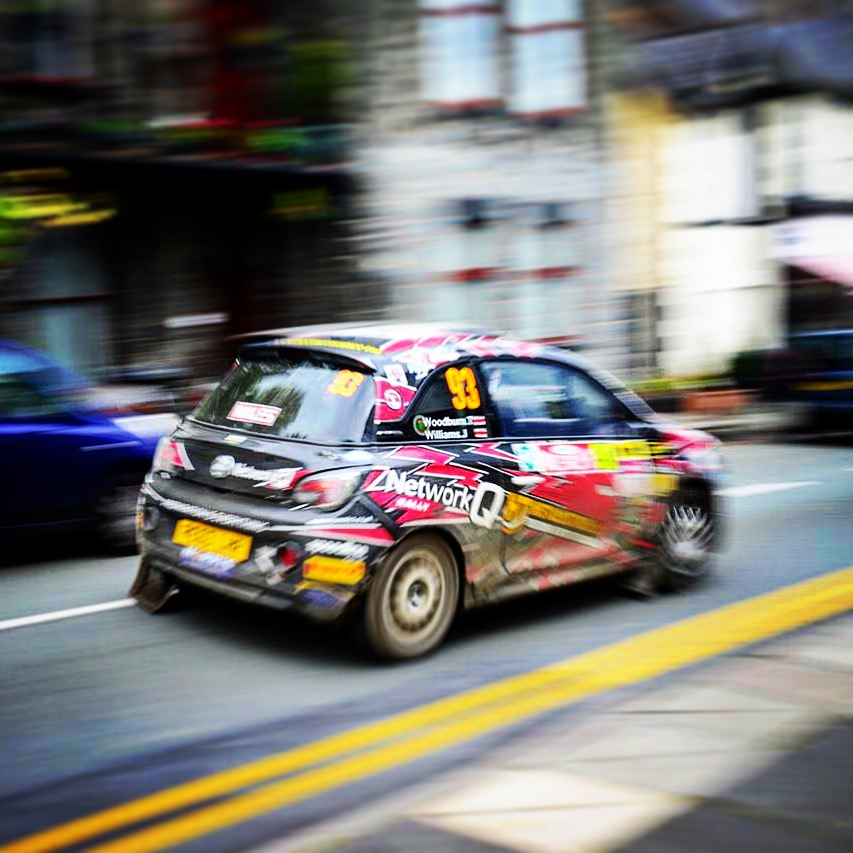 - Back home, Trefriw was again on the route of the Wales Rally GB - the cars roaring past provided an unusual (and loud!) spectacle for our breakfasting guests, most of whom were here to enjoy the stages anyway in the surrounding area!