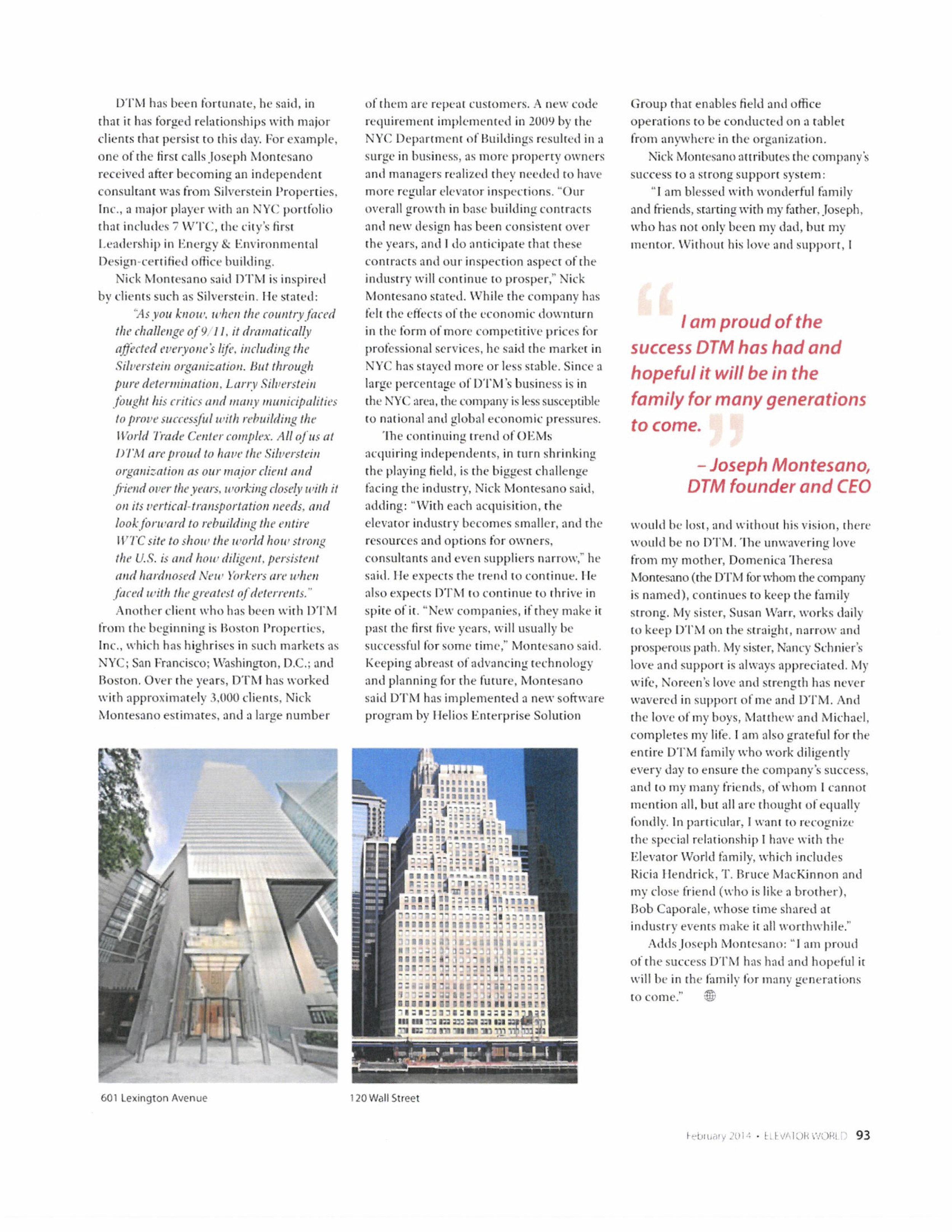 Elevator World Article on DTM 2014 3.jpg