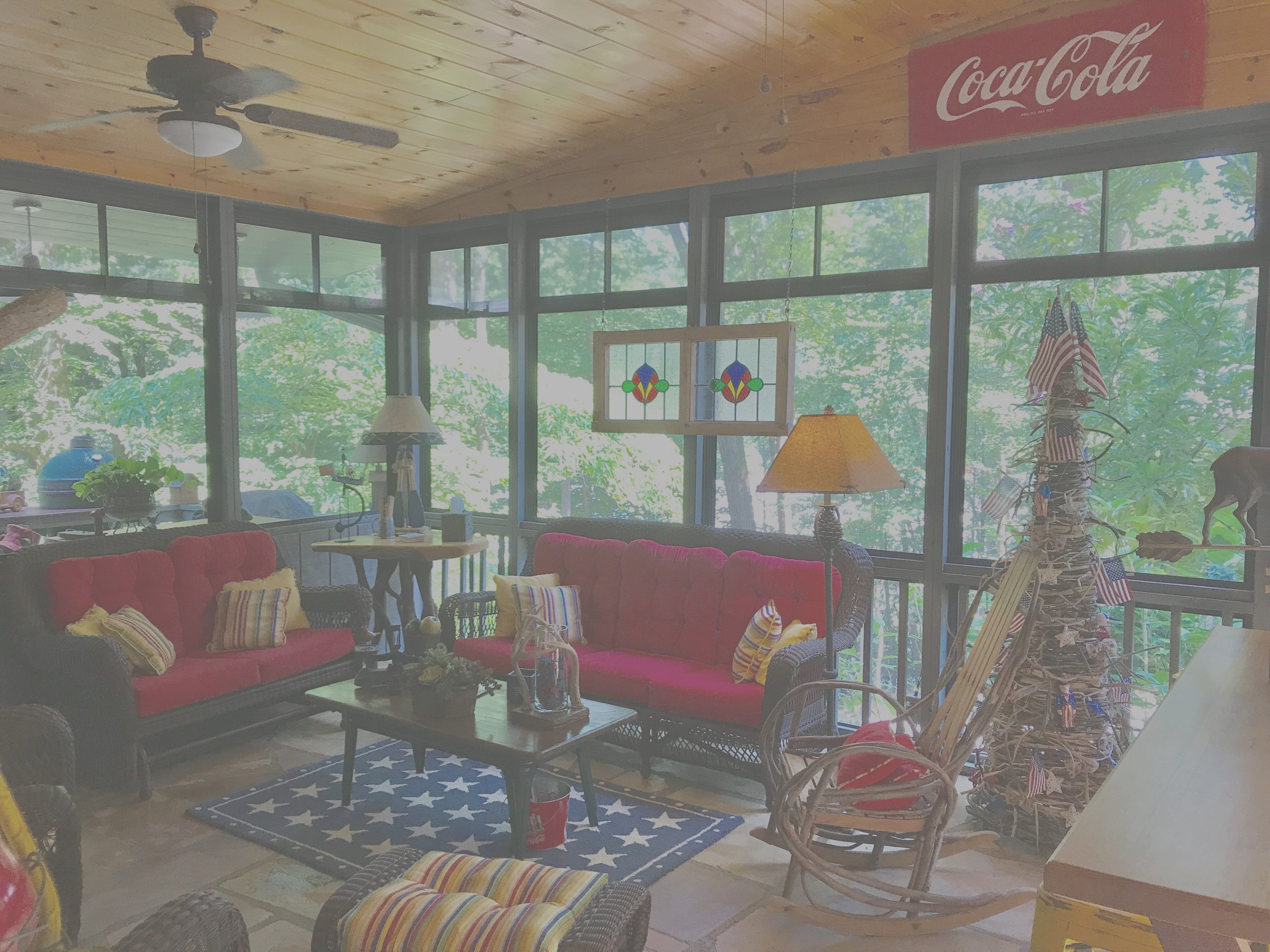 Charlie Mountain Porch -