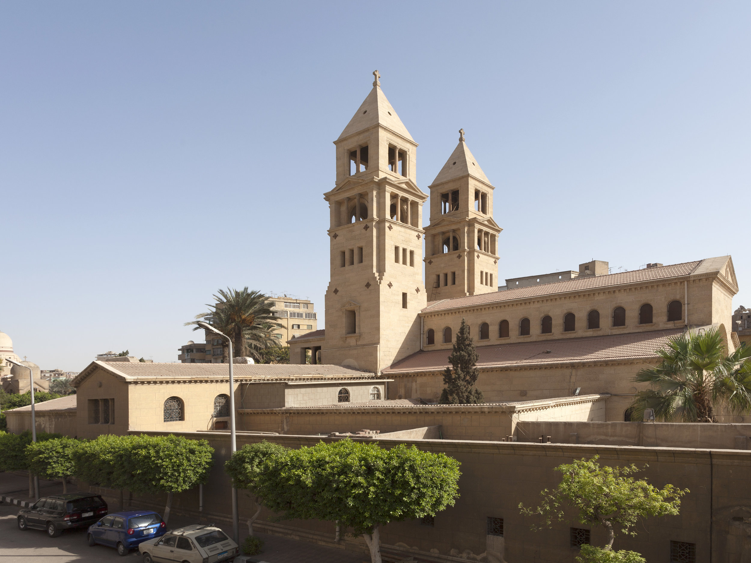 St. Peter and St. Paul Coptic Orthodox Church in Cairo – Creative Commons on Wikipedia.