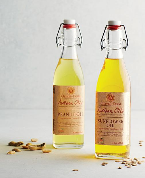 """Oliver Farm  Food Winner, 2015 Product: Artisan oils  Made in: Pitts, GA    oliverfarm.com      """"Let's just say, I wasn't a  foodie before this,"""" says Clay Oliver, a Georgia farmer who was looking for a new source of income during the recession. It had been a good year for his sunflowers, so he bought a press and tried his hand at making oil. It turned out so well that he began experimenting with the pecans and peanuts he also grows on the generations-old farm where he grew up. """"Most people don't realize that the cheap peanut oil you buy at the store comes from the damaged and diseased crop,"""" he says. """"The flavor of oil made with quality nuts can be a revelation."""" Just two years after he first sent out samples, you'll now find his oils at some of the best restaurants in the country: Miller Union in Atlanta; Husk in Nashville and Charleston, South Carolina; Extra Fancy in Brooklyn. And he has earned a following among home cooks who swear by them for everything from frying fish to sautéing vegetables to finishing salads. But Oliver's number-one buyer is still his local grocery store: """"Nothing makes me happier or more proud than my hometown supporting us."""""""