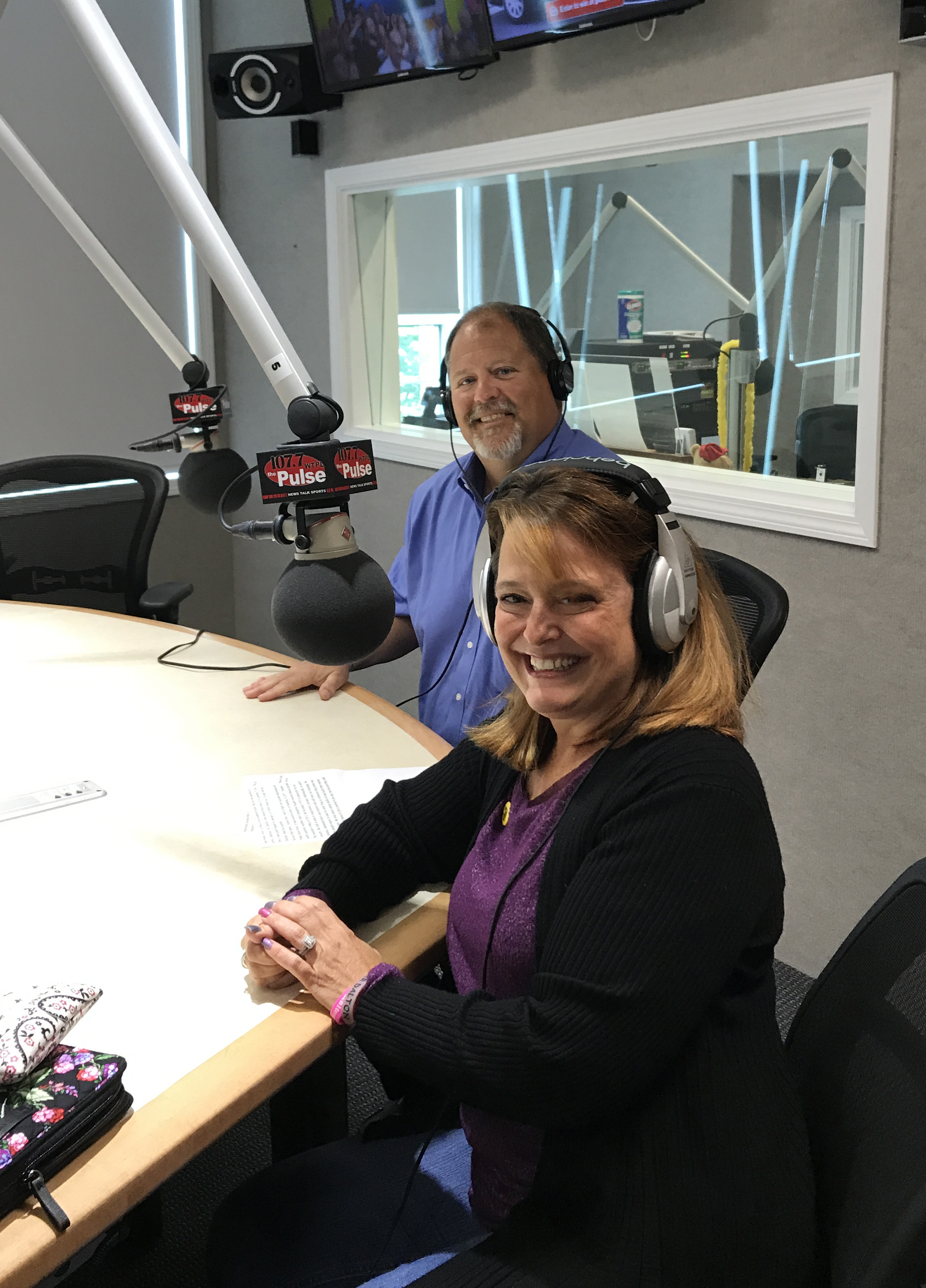Holly & Bryan Fenn, honored to share their personal story broadcast from 107.7- The Pulse, on  World Suicide Prevention Day , 9/10/18.