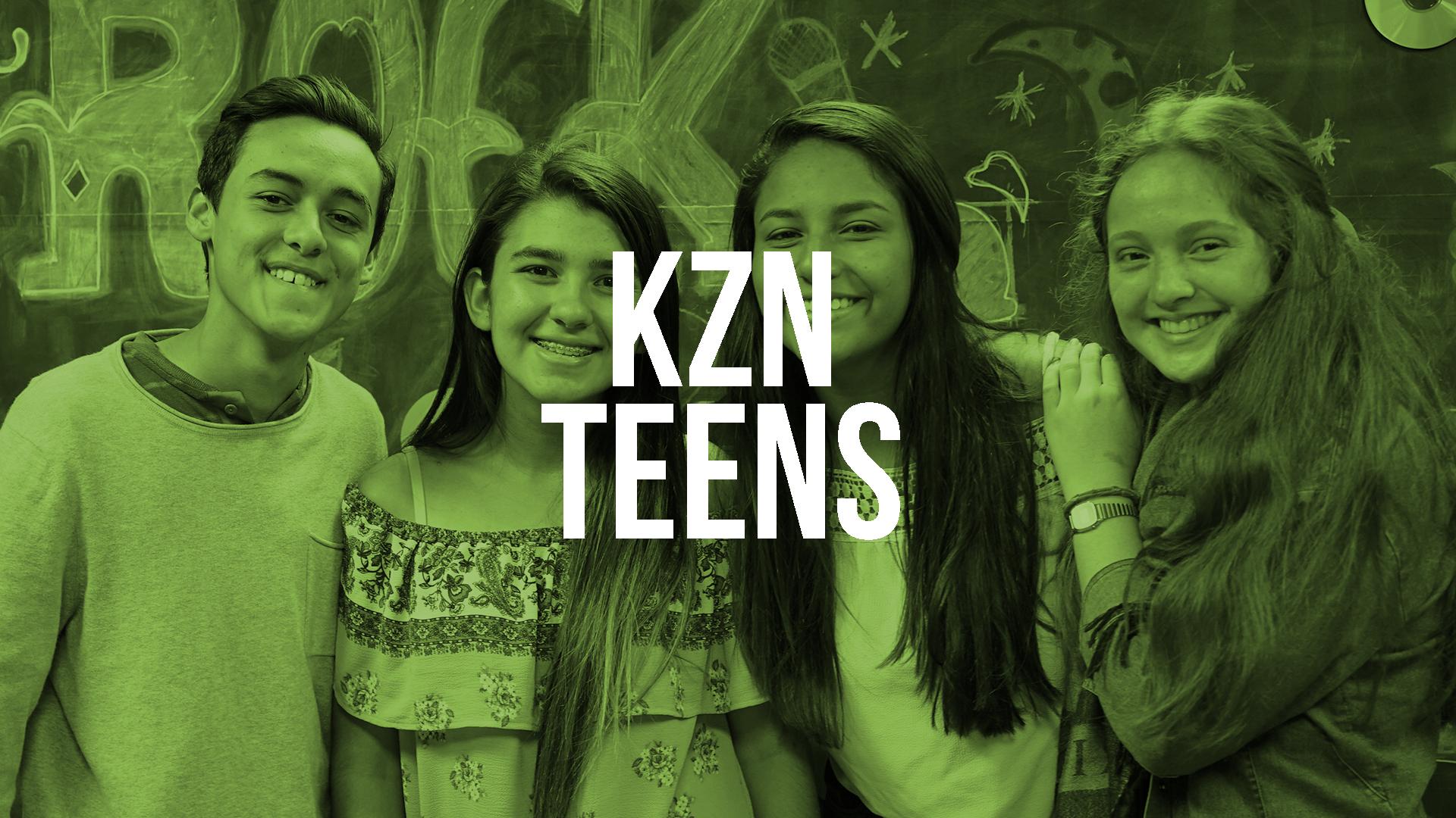 Kzona Teens es el grupo de adolescentes con edades de los 12 a 17 años, nos reunimos cada martes a las 7:30pm.