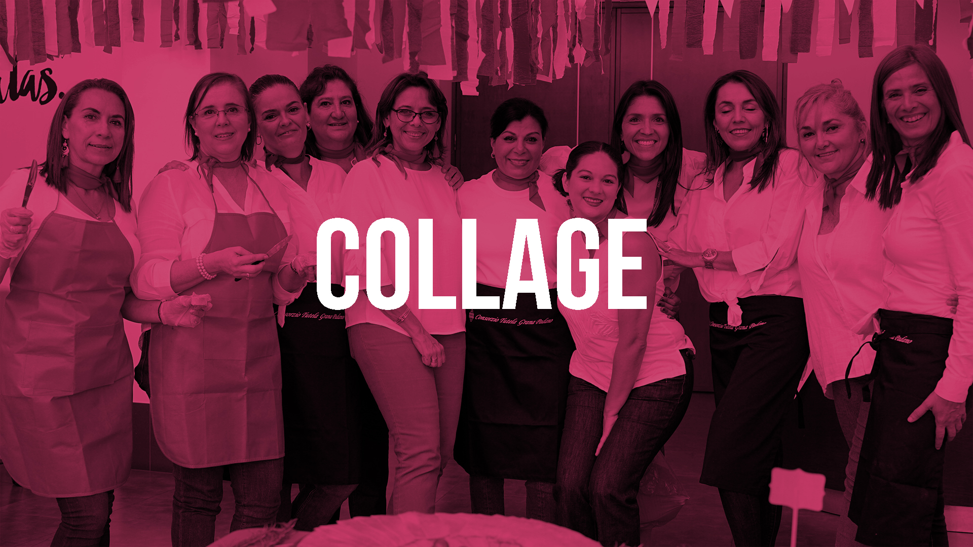 Collage es el grupo de mujeres de nuestra comunidad con reuniones semanales y estudios bíblicos dirigidos a todas ellas.