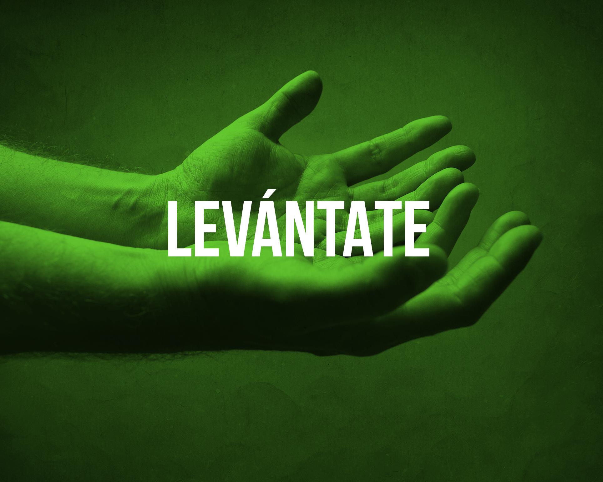 Levántate es nuestro programa de retiros enfocados en una restauración espiritual y sanidad integral de la persona.