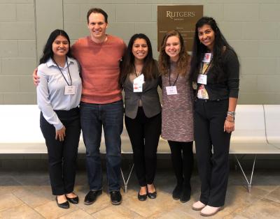 2019 NASPAA-Batten Competition Team Members (left to right): Fabiola Bachinelo, Joshua Schreier, Claudia Rodriguez, Miranda Richard, and Sneha Jayaraj.